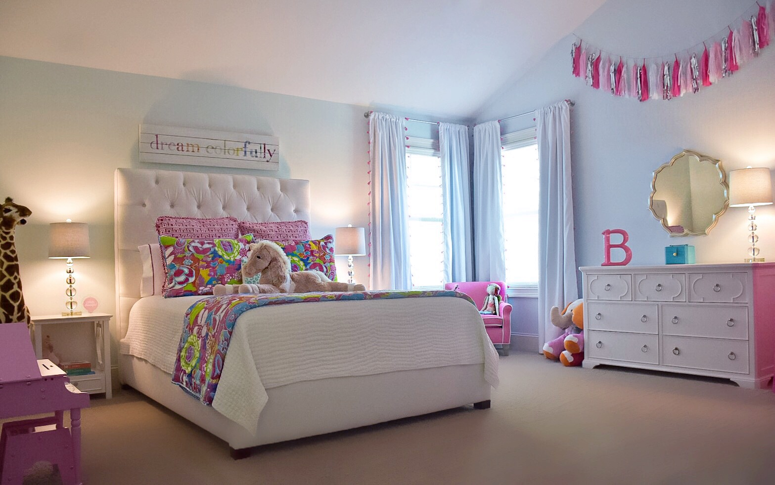 B Love S Big Girl Room Room Tour Taylor Brandenburg
