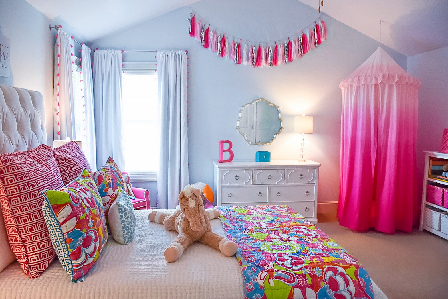 B Love 39 S Big Girl Room Room Tour Taylor Brandenburg