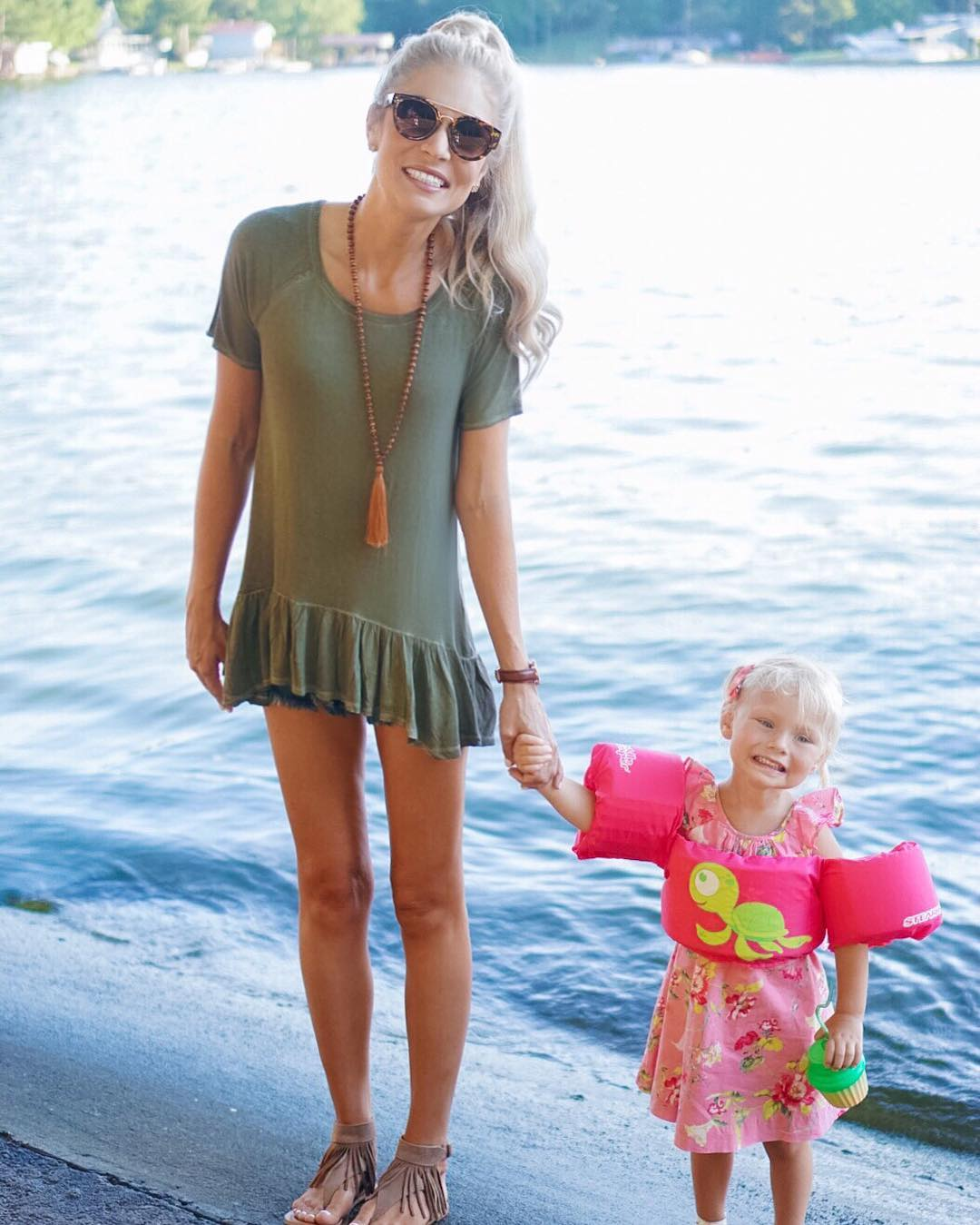 Sunset boat cruise with my main gal! http://liketk.it/2oHw0 #momlife #lifewithblove #vacaymode #4thofjuly