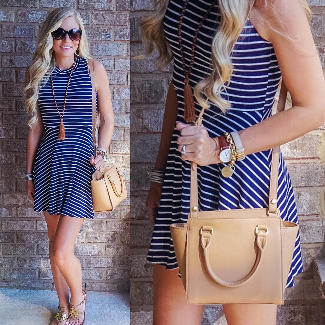 Blue & Striped & Classic! http://liketk.it/2oHBo #ootd #wiw #summer