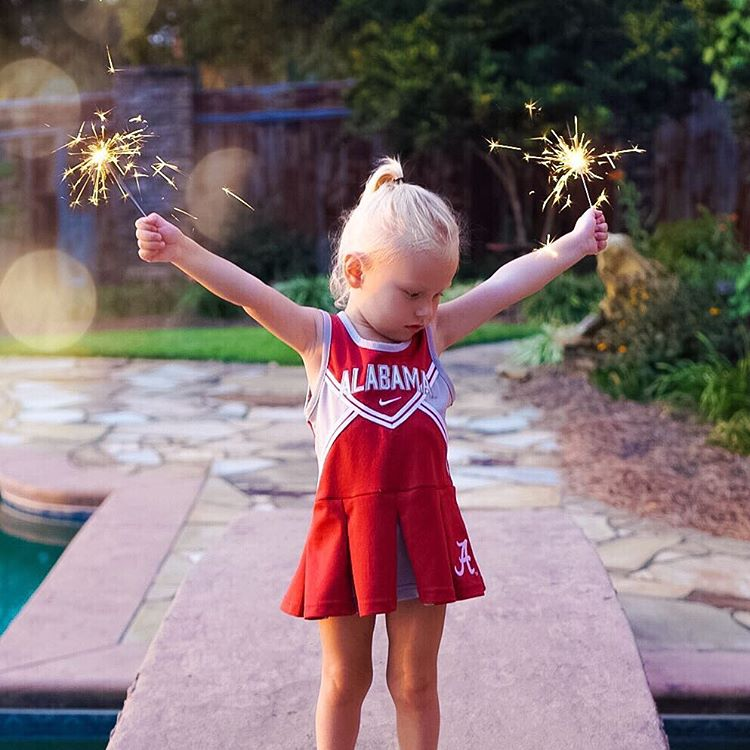 How to keep a toddler entertained while you watch football: FIREWORKS! #rolltide #lifewithblove #saturdaze