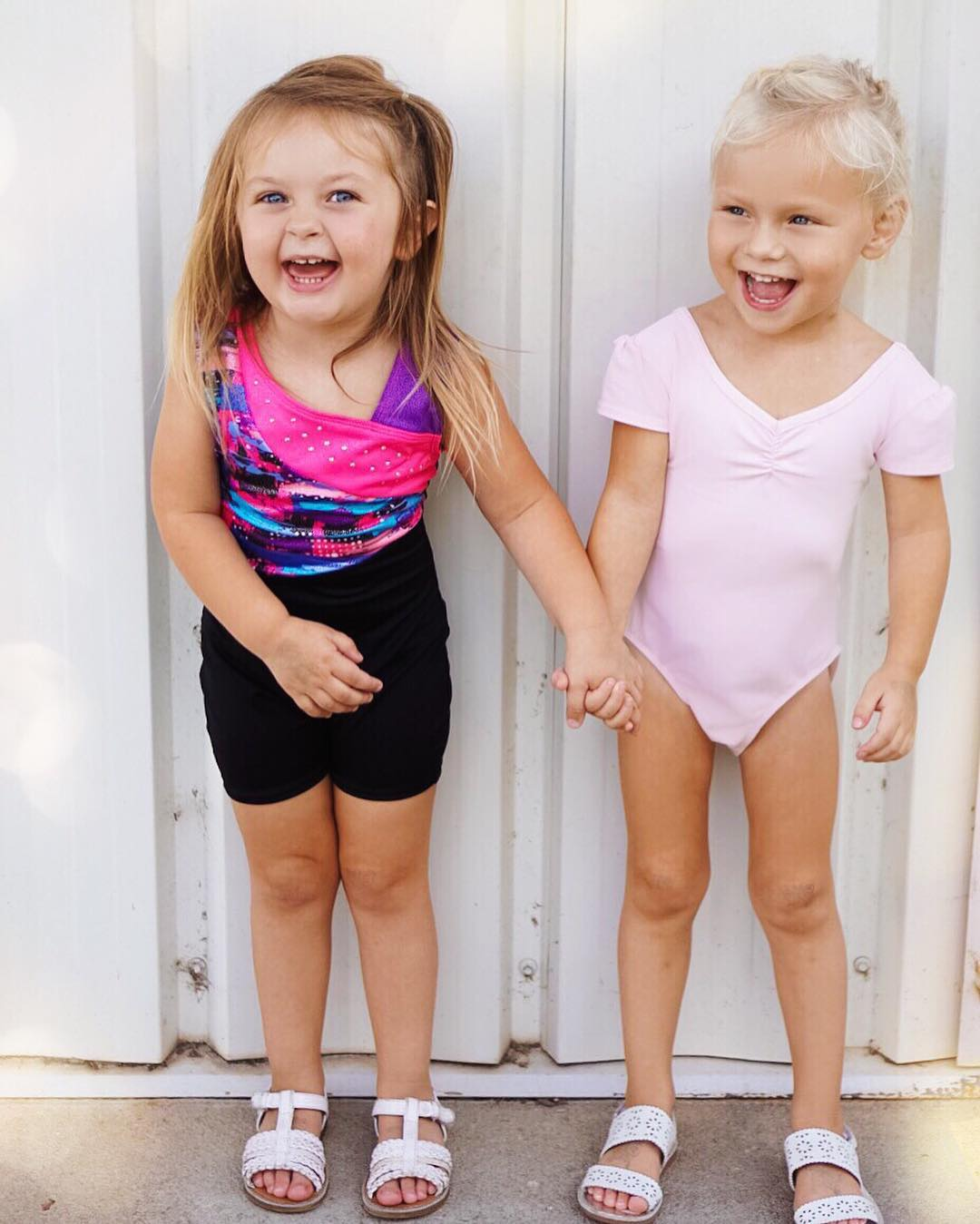 Who run the world!?! GIRLS! Gymnastics with her best buddy!! I love the sweet relationship these girlies have and hope B.Love always knows the value of a best friend! #lifewithblove