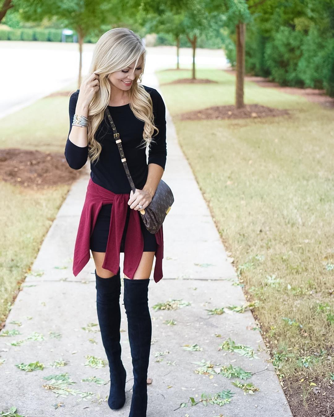 BRB...I'll be living in over the knee boots until further notice!? RTR http://liketk.it/2podO #rolltide #liketkit #wiw #ootd