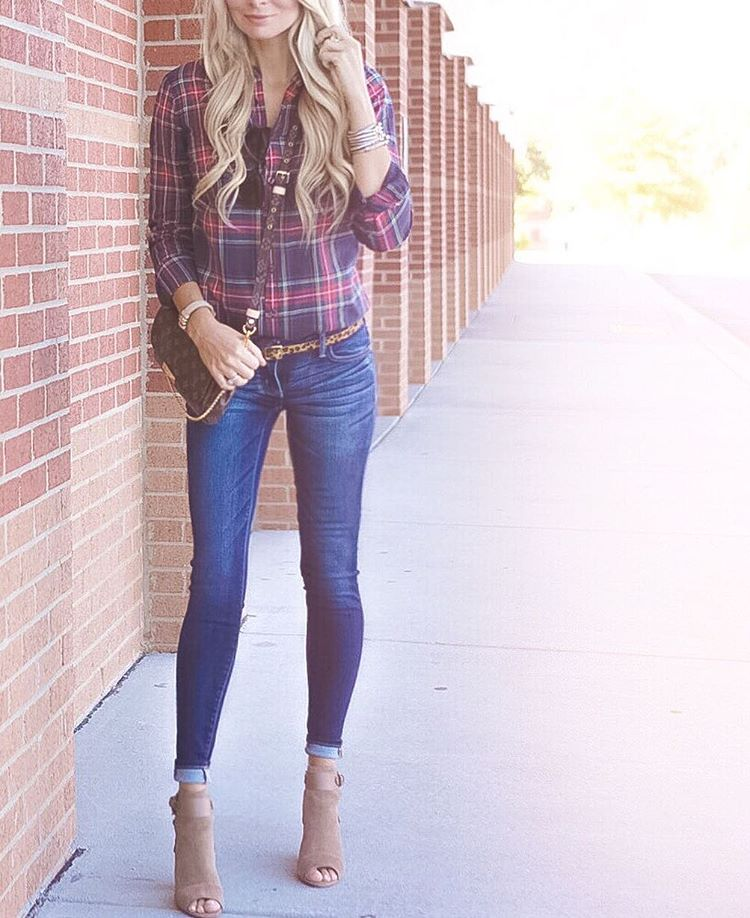 Mad for PLAID! ❤️ http://liketk.it/2pnFw #fall #fallfashion #igfashion #wiw #ootd #liketkit #liketkitunder50