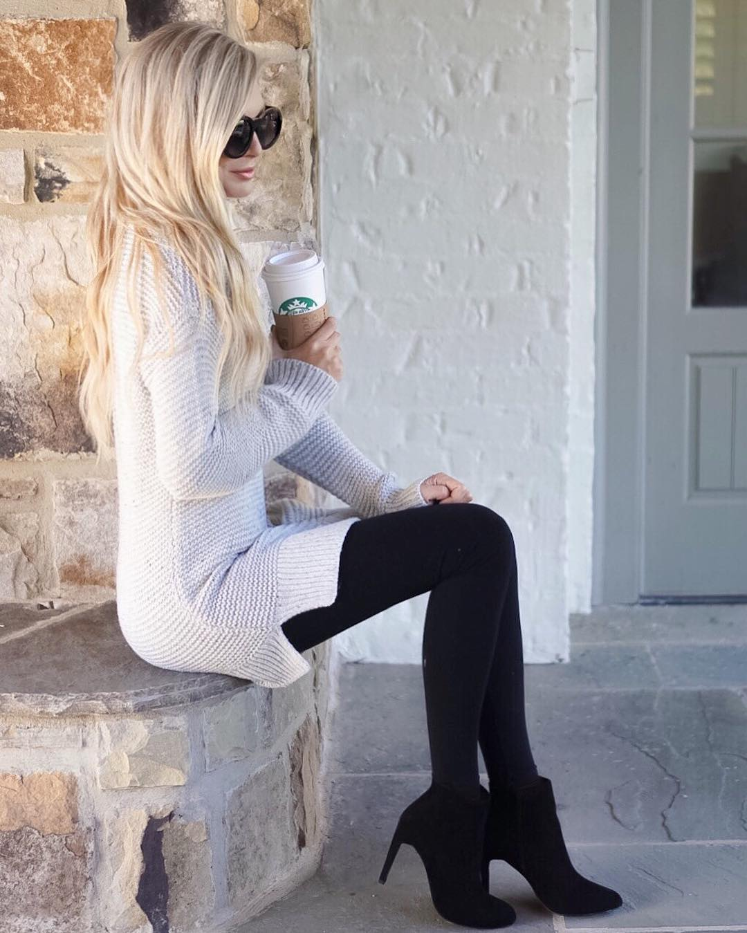 Hands down, one of the coziest things I've ever worn!! It's super long & oversized + 40% off!! Hope y'all had a fab Monday!! http://liketk.it/2poX9 #fallfashion #fall #wiw #ootd #liketkit #ltksaleslert #ltkunder50