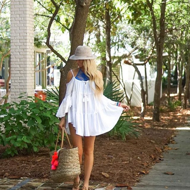 Sun kissed amp walking to the beach prettiest coverup! hellip