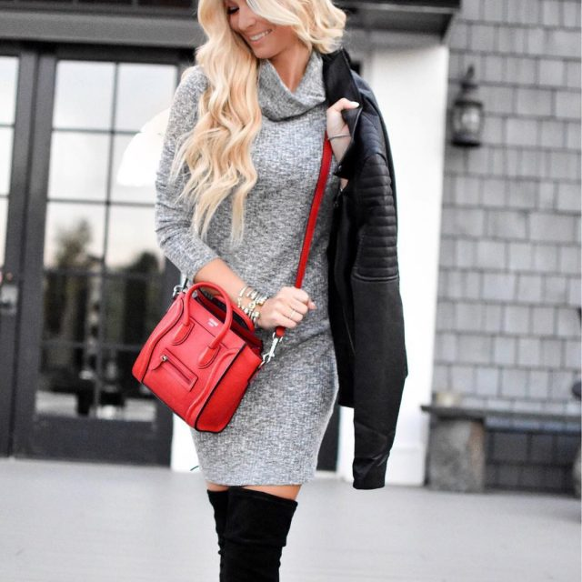 Ahhhh the sweater dress! The best way to look whenhellip