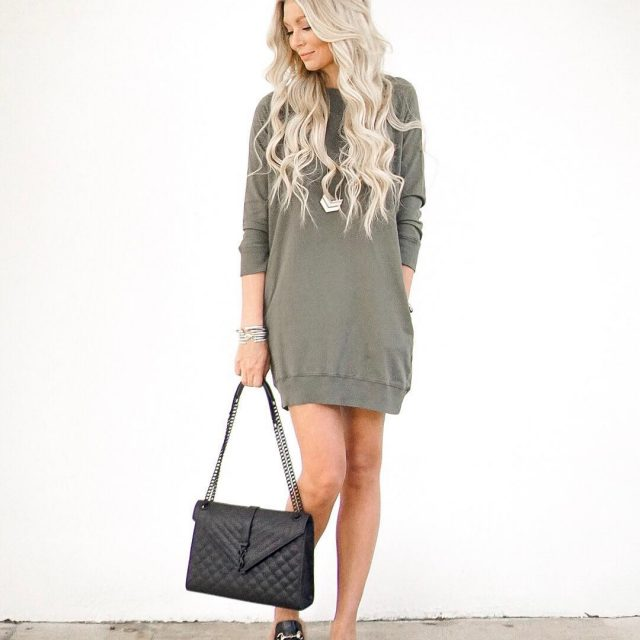 Comfy amp cozy sweatshirt dresses are my jammmm! And Ihellip